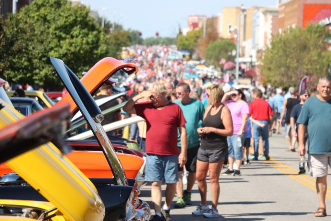 The AppleJack Car Show on Central Avenue was the main event of Sunday, Sept. 19, at AppleJack.