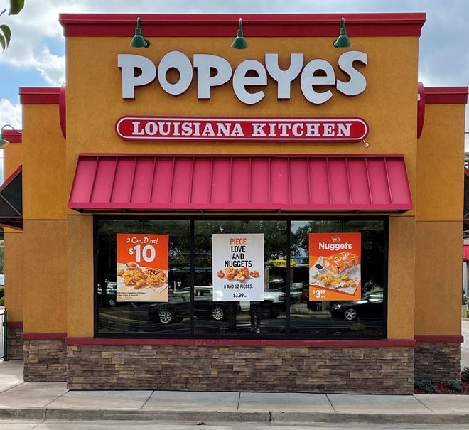 The Popeyes Louisiana Kitchen franchise at 103 N. Main St. in East Peoria received authorization from the Tazewell County Health Department Monday to reopen after being closed for a week.