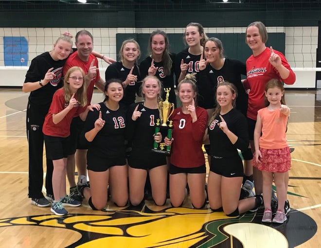 JLHS volleyball wins their second invitational of the season by capturing the title in the Grayling Invite Tournament.
