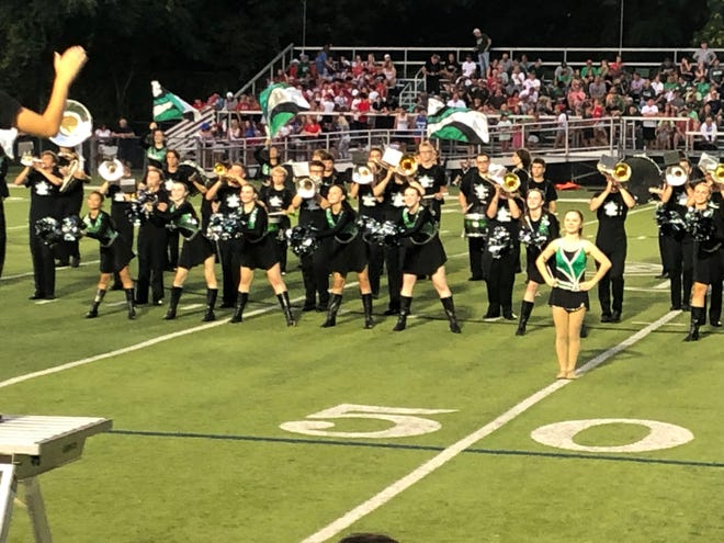 Aurora High School's Band Show, known as Thunder Over Aurora, will begin at 7 p.m. on Sept. 25 in the Aurora High School Veterans Stadium.