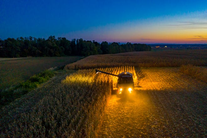 Harvest season is upon us. Be careful around slow-moving equipment as area farmers make their way to and from their fields.