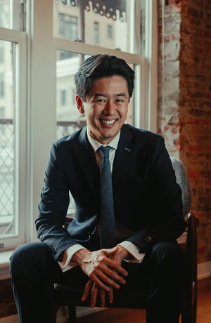 Kensho Watanabe is guest conductor of the Sarasota Orchestra's first full concert since the panademic canceled performances.
