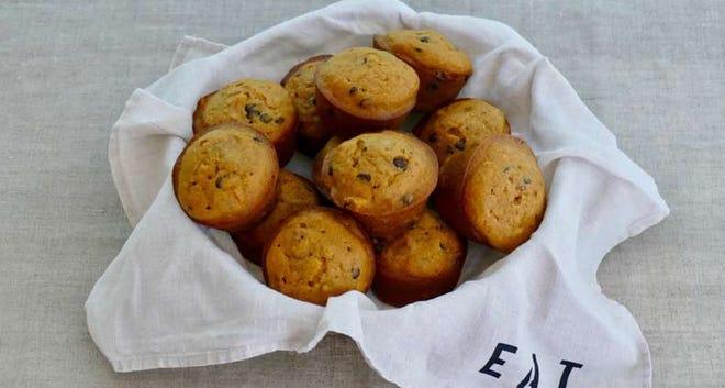 Butternut Squash and Walnut Muffins