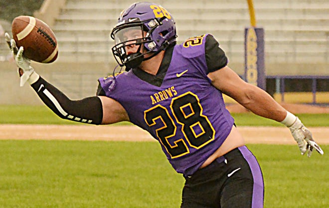 Mac Young and the Watertown High School football team face a big task this week when they visit top-rated Class 11AA Tea Area on Friday night in Tea.