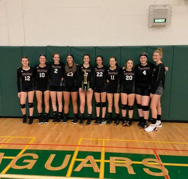 The Wellsville volleyball program won its second tournament title of the season Saturday, bringing home the trophy from the annual Genesee Valley Tournament.