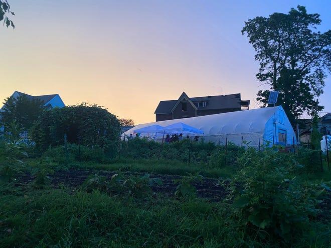 YouthGROW will host a party at its farm at 63 Oread Street.