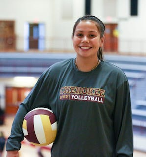 Cherokee senior Donna Thompson is the Citizen Times' Athlete of the Week!