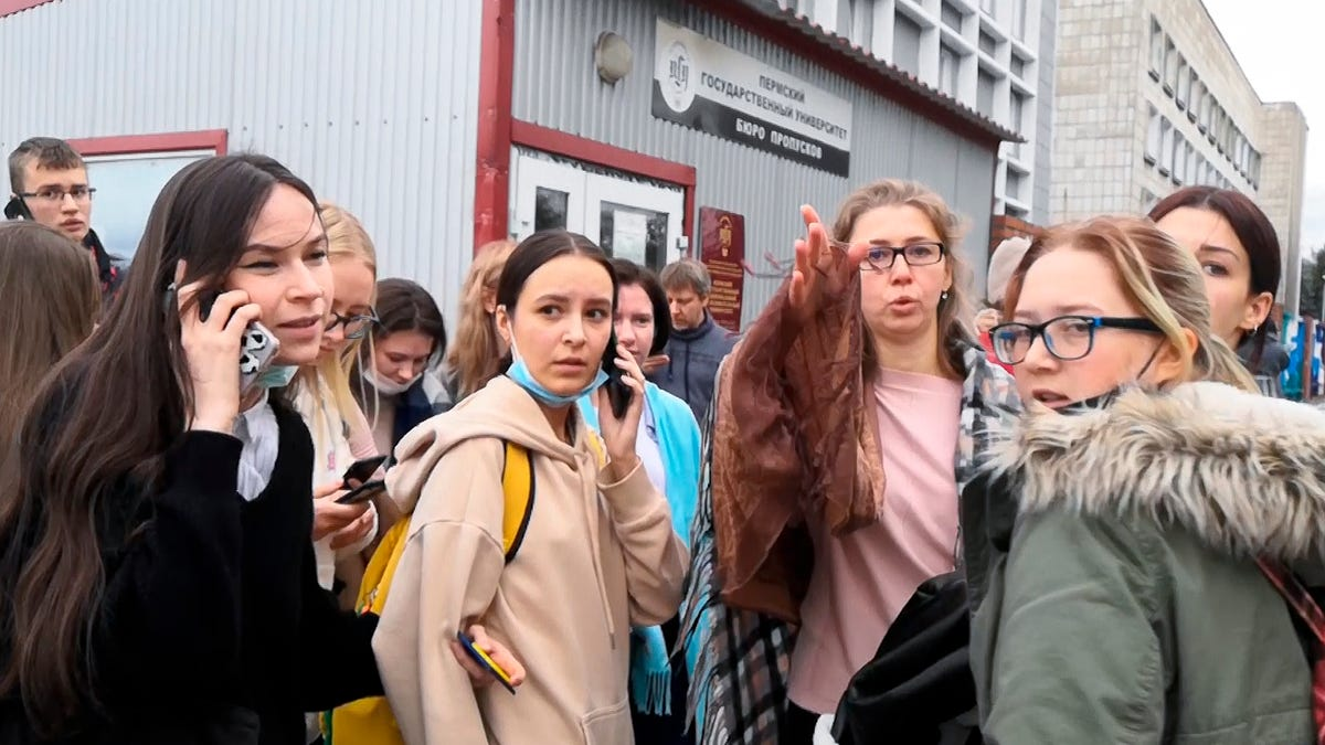 Shooting at Russian university leaves 8 dead, 24 hurt 3