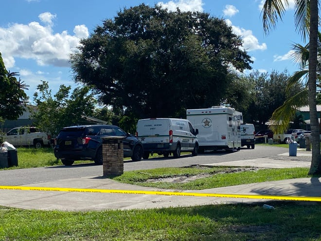 Lee County Sheriff's Office Major Crime Unit detectives responded to Brandon Street in Fort Myers in reference to a shooting Monday, Sept. 20, 2021.