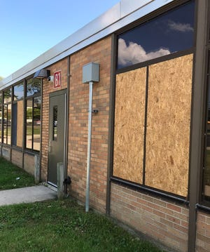 Vandals recently committed more than $100,000 in damage at Johnson Elementary School.