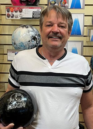 James Hartley opened the season with a 742 series to lead all bowlers in Mesquite last week.