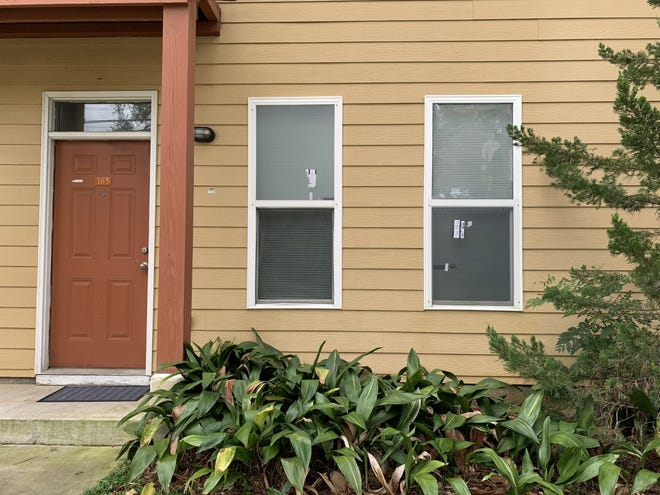 Bullet holes through the walls and windows of a Villa Lucia apartment on Monday, Sept. 20. One person was left with a small injury that was treated on scene, according to TPD spokesperson Heather Merritt.