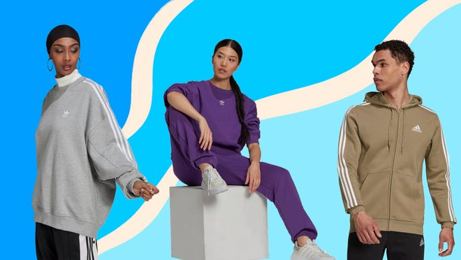 Save up to 50% off cozy fleece items during the Adidas Fall Fleece sale.