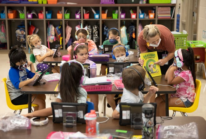 Five Kansas schools were named 2021 National Blue Ribbon Schools Tuesday by the U.S. Department of Education.
