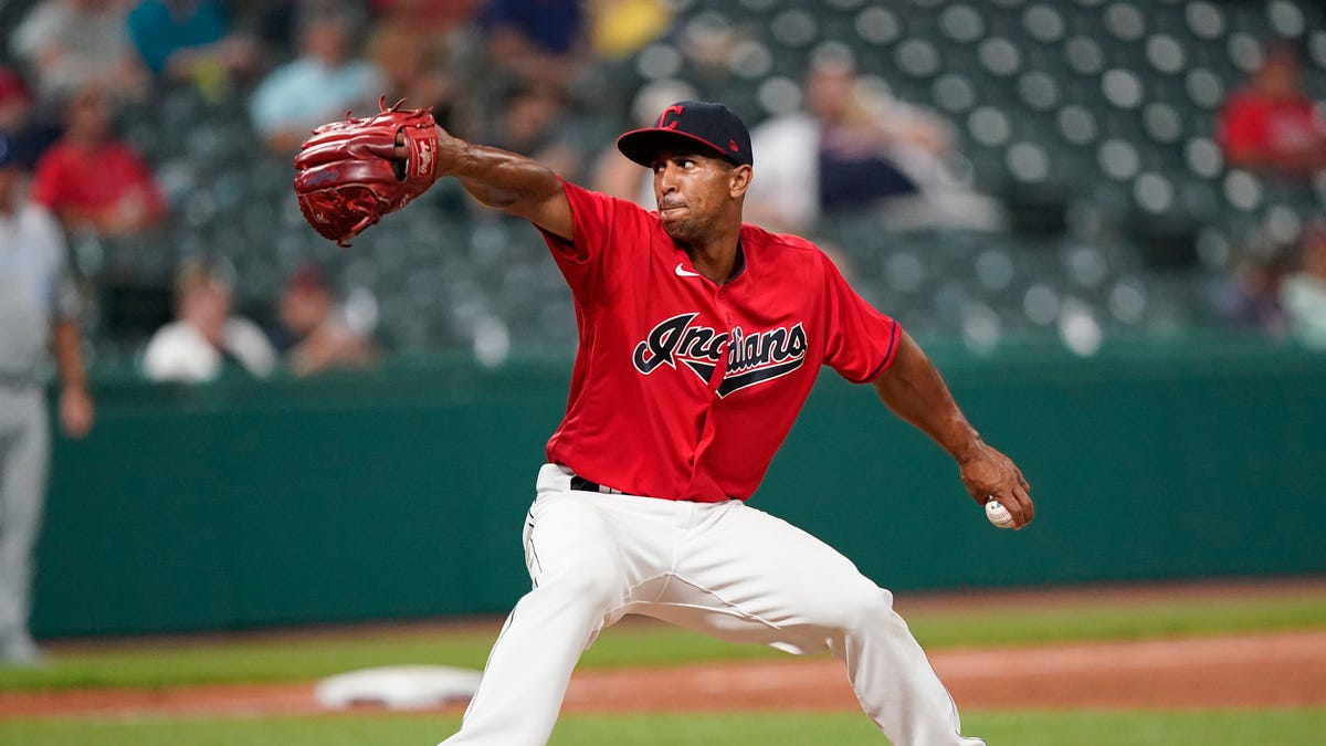 Cleveland's Anthony Gose, ex-outfielder converted to reliever, flashes 100 mph in MLB debut