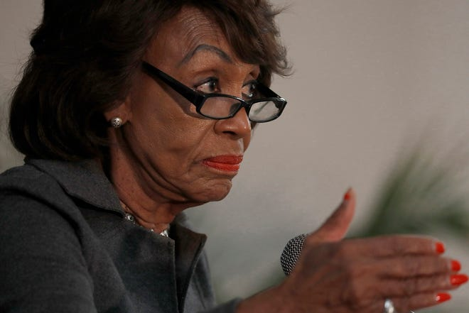 Rep. Maxine Waters, the House Financial Services chairwoman, has sponsored a bill that would allow landlords to apply without tenant approval for federal aid to cover back rent they are owed. (Luis Sinco/Los Angeles Times/TNS)