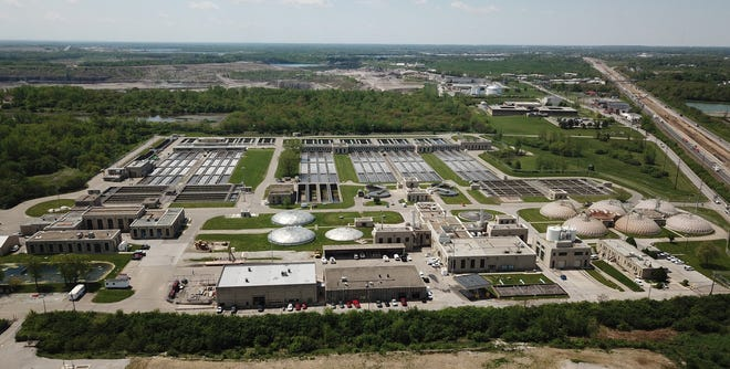 The Jackson Pike Sewage Treatment Plant is on the South Side. It is operated by the Columbus Department of Public Utilities.