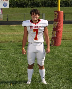 Big Walnut's Nate Severs earned our Player of the Week honor for Week 5, based on a staff vote.