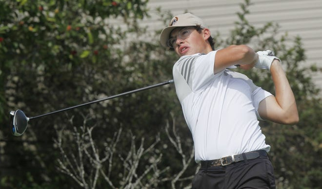 Colin Bibler led Delaware Hayes to the OCC-Capital championship, earning league Player of the Year honors. The Pacers had the top three individual finishers in the league in Bibler, Brady Gazarek and Mark Sulek.