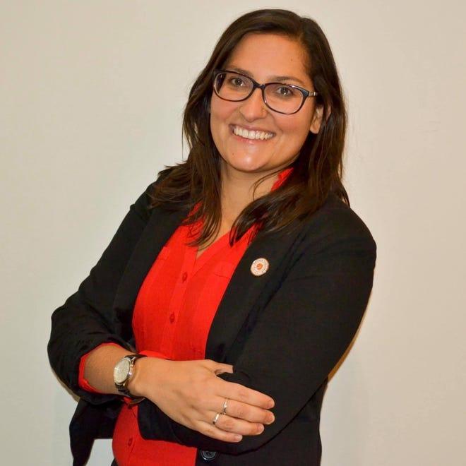 Orange Township Administrator Michele Boni