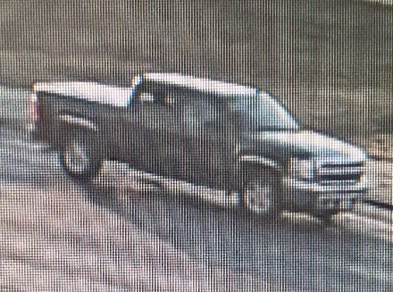 Peoria police were searching for this pickup truck in connection with a fatal shooting Monday night in the North Valley.