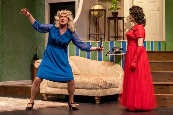 Theatre at Tarleton will present the Ken Ludwig farceLeading Ladiesat 7:30 p.m.Tuesday-Saturday, Sept. 21-26, at the Clyde H. Wells Fine Arts Center in Stephenville.