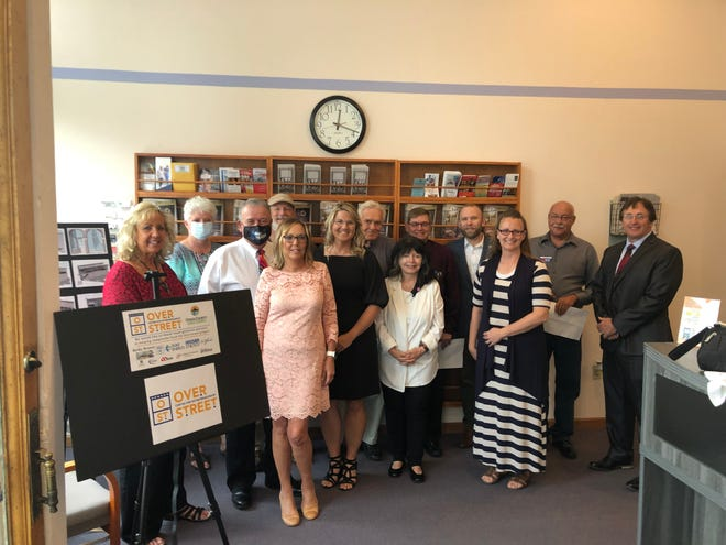 Donors for the Overstreet Center for Entrepreneurship gathered for a reception recently. The project is a shared working space for small businesses who may not have a space to meet with clients in.