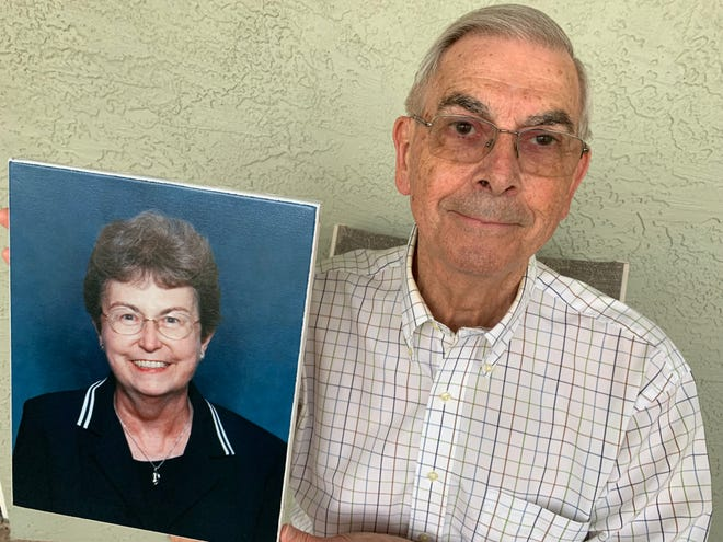 Suddenly Single: Widower Bob Glockler, who is a healthy, active 83, is struggling to define what his home should look like now that his wife is gone.