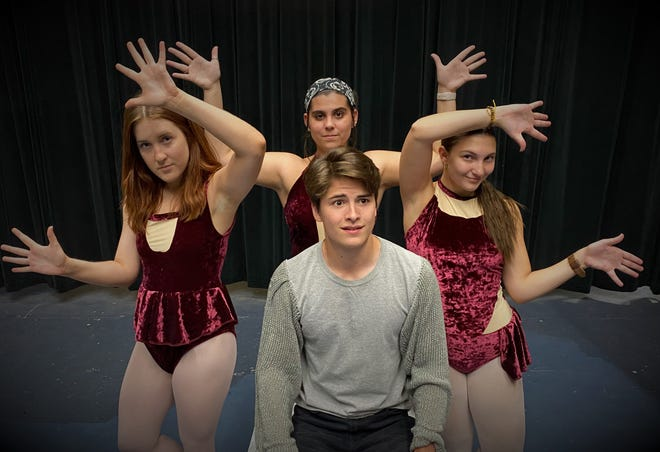 """Martin Kamm plays the title role in """"Pippin,"""" set in the Middle Ages."""