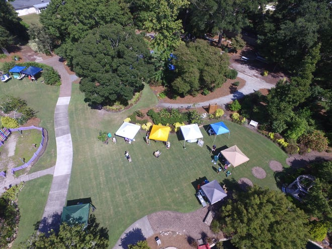 The New Hanover County Arboretum grounds made a great host site for the Native Plant Festival on Sept. 18, 2021.