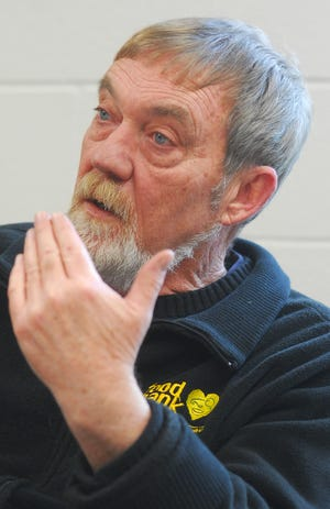 This Feb. 2, 2010 photo shows Bob Randels, founder of the South Michigan Food Bank. Randels retired in 2014 and died on Sept. 14, 2021.