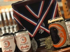 Spellbound Brewing scored a silver medal for its Porter Aged on Palo Santo, a wood-aged brew that has inspired two previous medals, a silver and a gold.