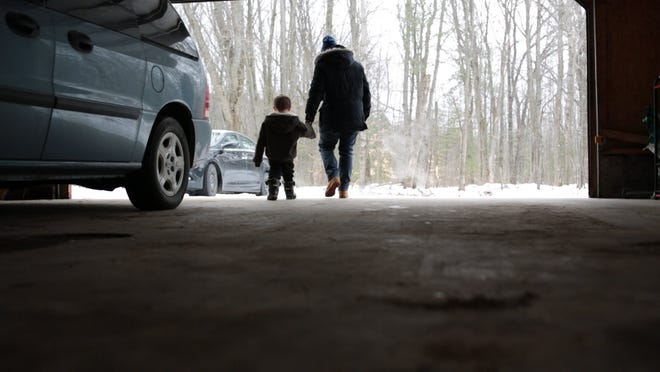 """In """"North By Current,"""" filmmaker Angelo Madsen Minax returns to his hometown of Grayling, Michigan, after the death of his young niece and delves into his relationships with his sister and parents that have been impacted by trauma, drug addiction and Minax's gender transition."""