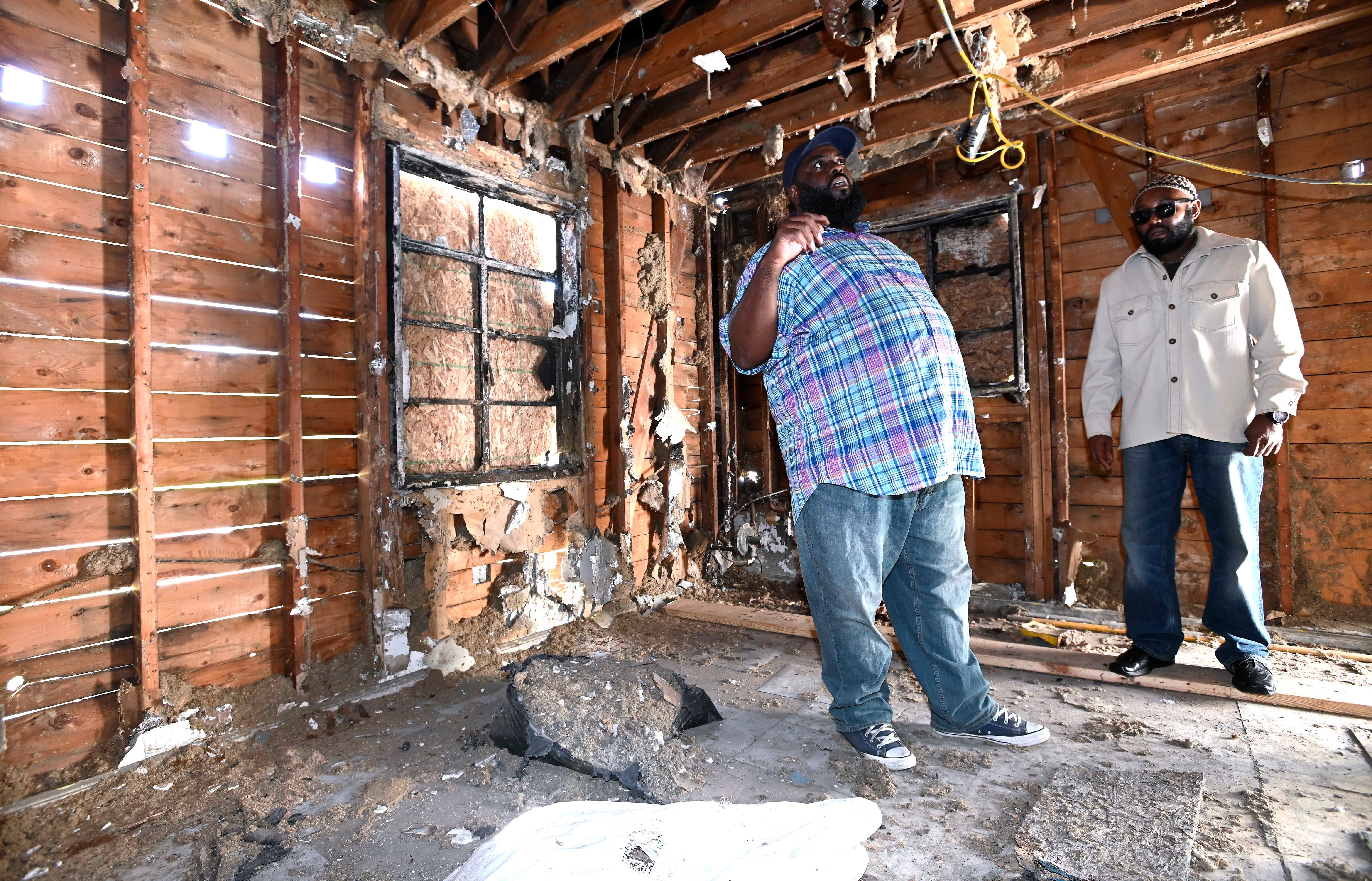 A look inside the Inkster home of Malcolm X. Once nearly torn down, it will be restored