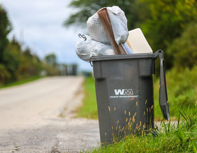 Garbage is piling up in communities along the east shore of Lake Winnebago, with some rural areas going more than 30 days without garbage or recycling pick-up from Waste Management. The company says it is suffering from a lack of drivers.