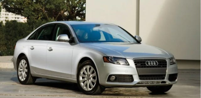 A stock image of a 2012 Audi A4, which Milwaukee police believe was involved in a hit-and-run crash that killed an 18-year-old man near West Locust Street and West Fond du Lac Avenue early Tuesday.