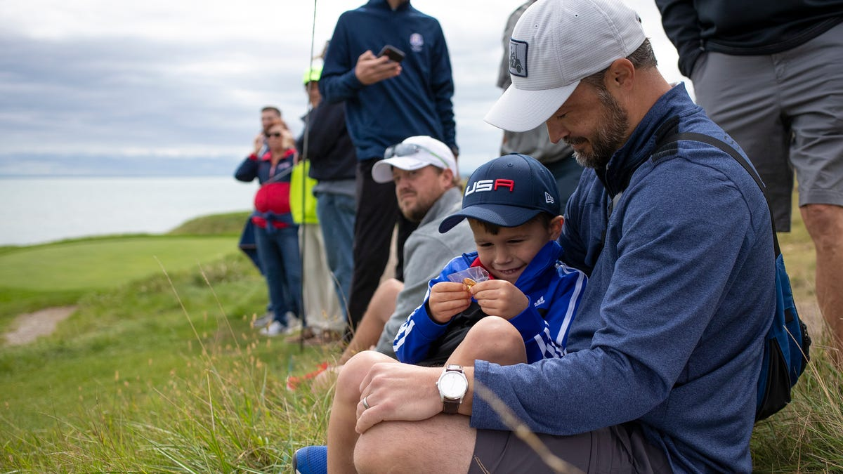 Photos from Tuesday's Ryder Cup practice rounds at Whistling Straits golf course in Haven - Milwaukee Journal Sentinel