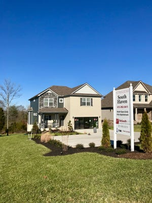 Ole South is launching construction next month in Shelbyville's Wheatfield neighborhood. The company will build 150 single-family homes. This is an example from South Haven in Murfreesboro.
