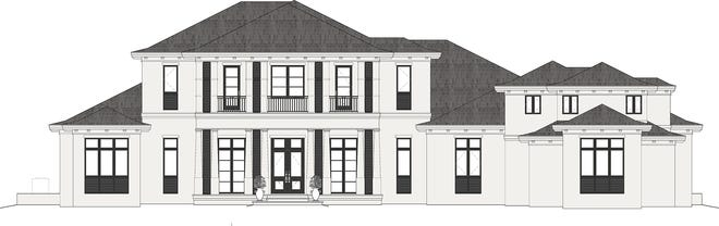 Theory Design is creating the interior for a Seagate Development Group custom home off Daniels Parkway in Fort Myers.