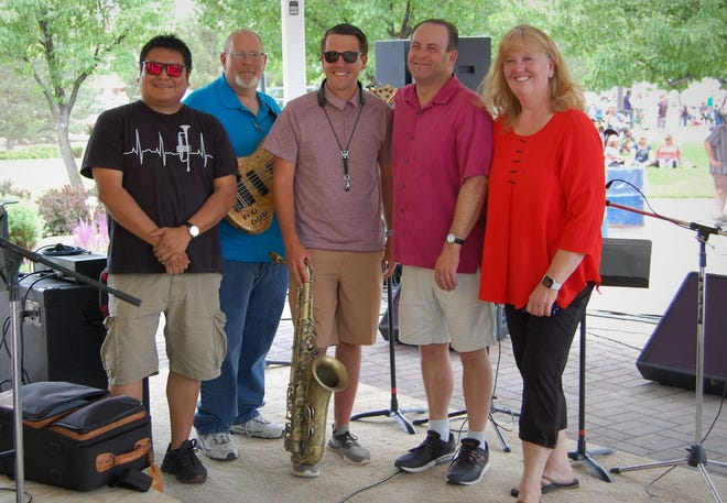 The Fetz X-tet performs from noon to 3 p.m. Sunday, Sept. 26 at the Harvest Wine Festival at Wines of the San Juan in Blanco.