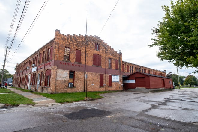 The building at 1635 Poplar St. in Port Huron, known as the Fead Building, is for sale. The building was constructed in 1907.