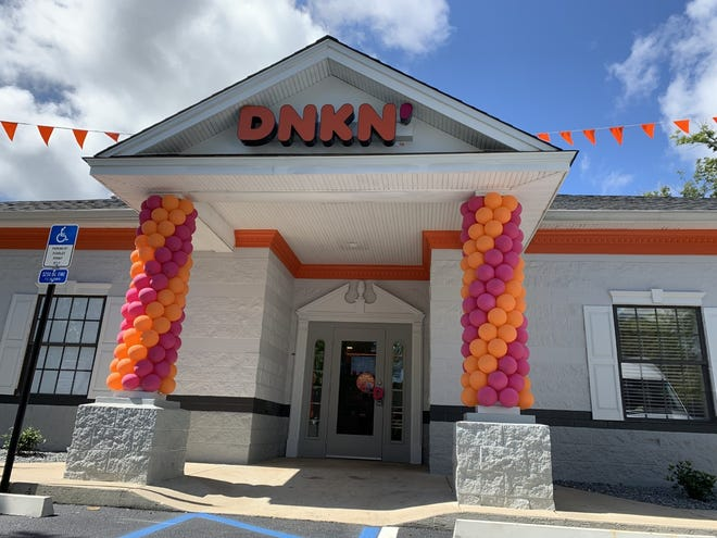 A new Tallahassee location on Mahan Drive greeted its first customers Tuesday morning. Its owner said there are two more Dunkin' stores slated to open next year.