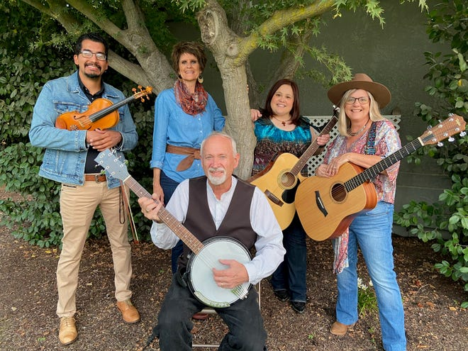 Copper Creek is comprised of Pete Chambers:guitar, banjo and vocals, Jennifer Toledo on guitar and vocals, Dana Hight:guitar and vocals, Jeremiah Sosa: violin and Connie Enns-Rempel vocalist.