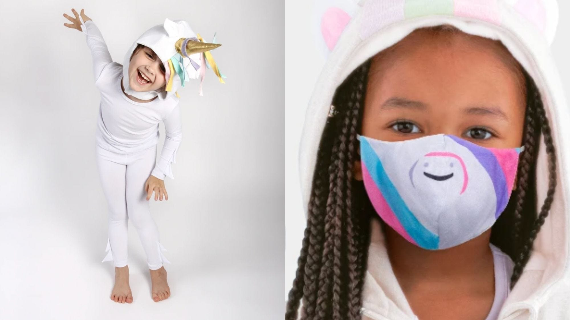 25 creative Halloween costumes kids can wear with masks