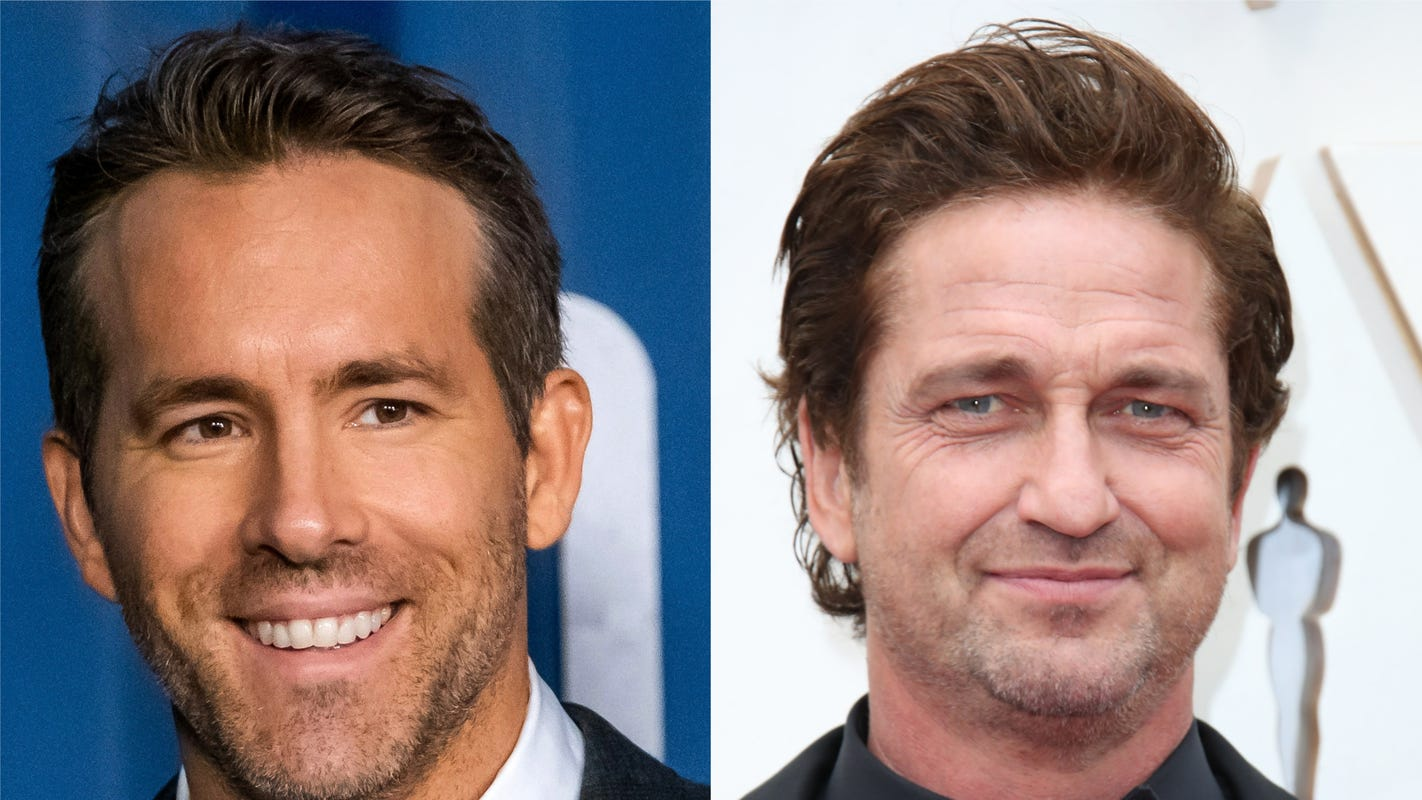 Ryan Reynolds spotlights ACLU, NAACP after Gerard Butler says he doesn't watch his movies – USA TODAY