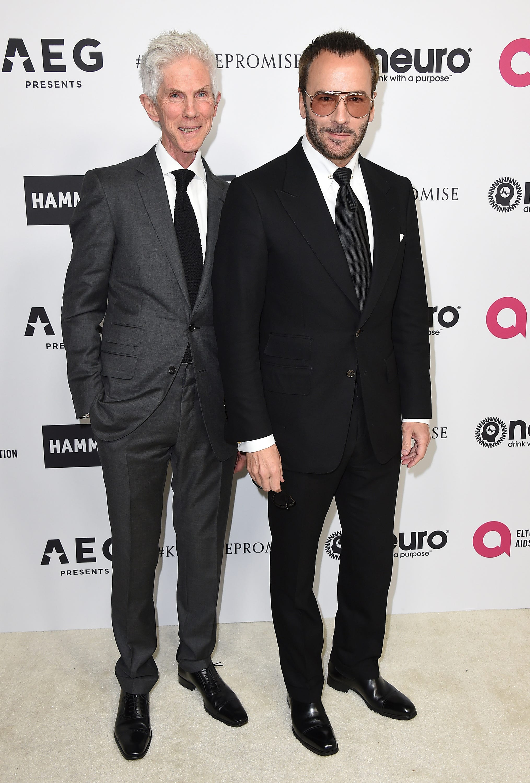 Fashion editor Richard Buckley, husband to designer Tom Ford, dies at 72