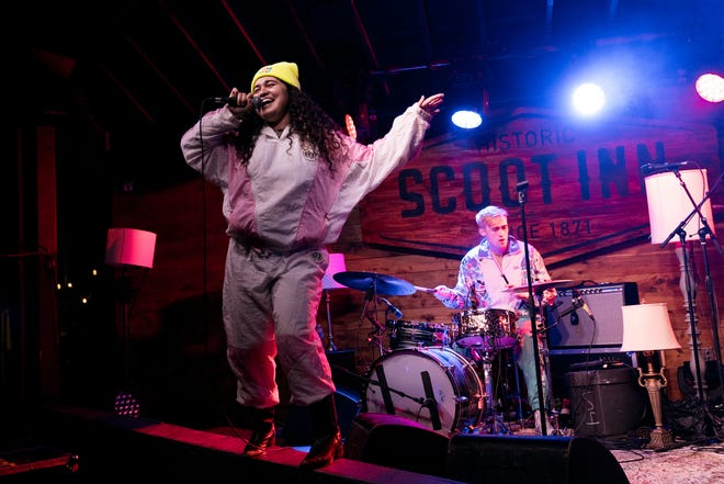 Remi Wolf opens for Cautious Clay at the Scoot Inn in 2019. She'll play ACL Fest this year.