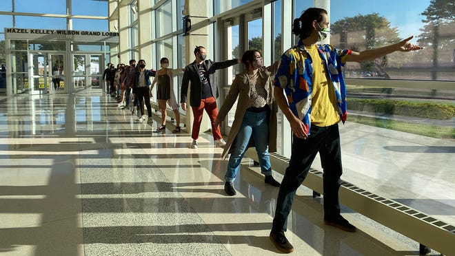 """The West Texas A&M University Theatre musical """"Theory of Relativity,"""" a filmed production that streamed in October, won eight awards through the Kennedy Center American College Theater Festival."""
