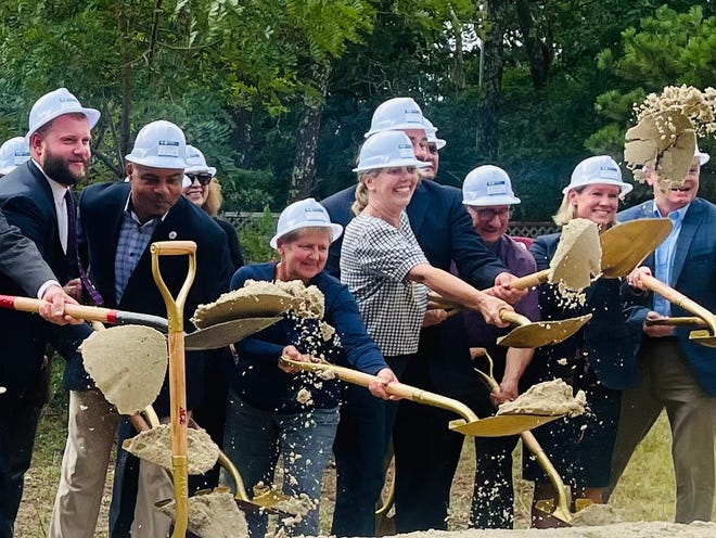 State and local lawmakers staged a ceremonial groundbreaking Friday to begin construction of the Strawberry Hill Pump Station. Learn more about Barnstable's Comprehensive Wastewater Management Plan, including weekly work schedules, road closures anddetours, at:www.barnstablewaterresources.com.