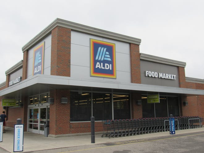 This is the Aldi at 4664 Sawmill Road. Aldi Inc. will build a new store by mid-2022 on the north side of U.S. Route 62 northeast of Walton Parkway in New Albany.